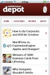 webdesigner depot for android